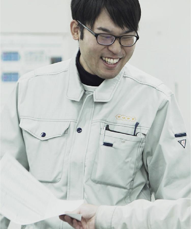 先輩インタビュー プロジェクト事業 西田 雄太郎