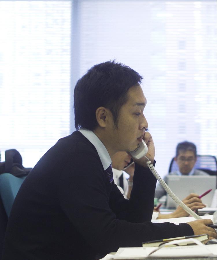 先輩インタビュー 自動車部品事業 中川 潤史