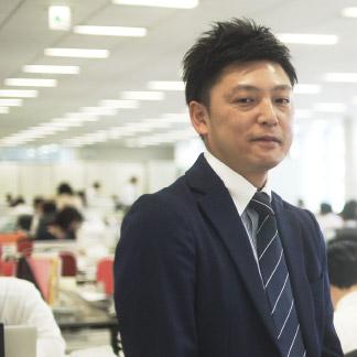 羽田 竜輔 プロジェクト事業 建機部品営業部